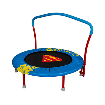 My First Superman 36-inch Trampoline with Handlebar