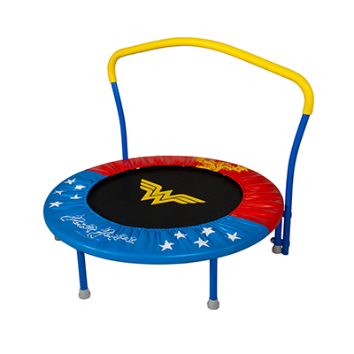 My First Wonder Woman 36-inch Trampoline with Handlebar